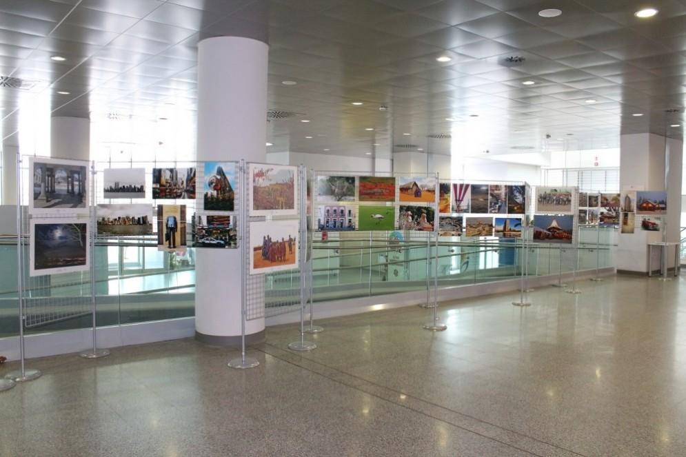 La mostra nell'atrio del Nuovo Ospedale di Biella
