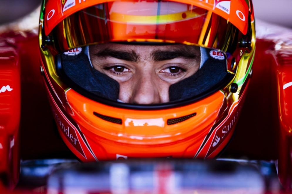 Al volante Esteban Gutierrez, pilota Haas e collaudatore della Rossa