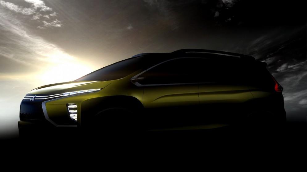 Foto teaser del Mitsubishi XM Concept