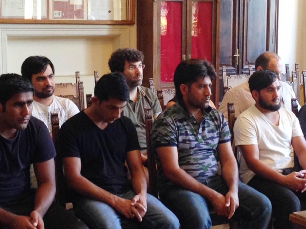I migranti che saranno coinvolti nel progetto lavorativo a Pontebba