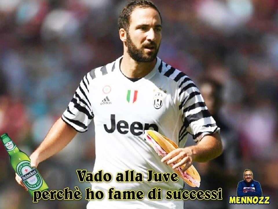 Ricordiamo che Higuain è costato alla Juventus 90 milioni di euro
