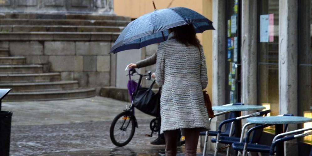 Giornata di pioggia e vento quella di mercoledì in Fvg