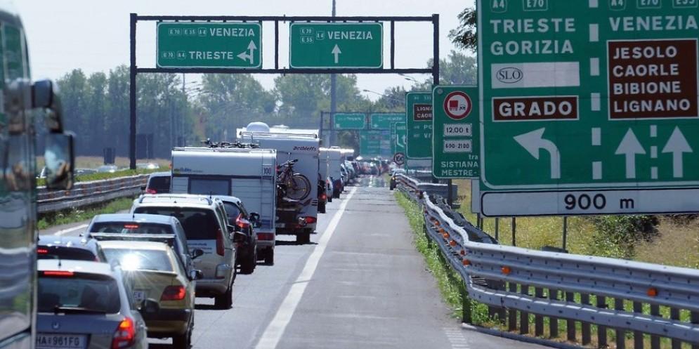 Le previsioni del traffico per il week end di Ferragosto