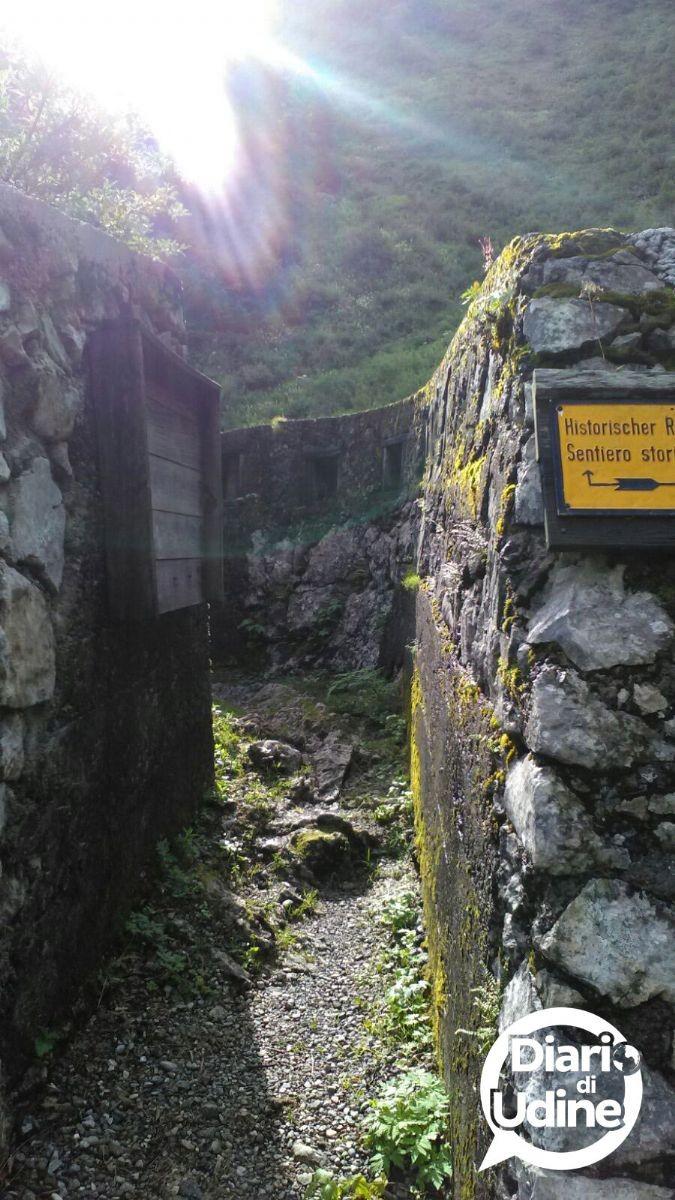 Pal Piccolo, il Museo a cielo aperto della Prima Guerra Mondiale in Fvg