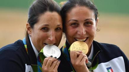 Le due atlete italiane
