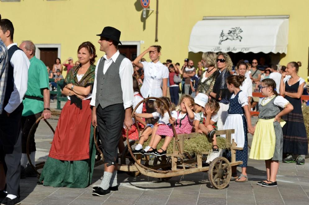 Grande festa a Paluzza per il Palio das Cjarogiules