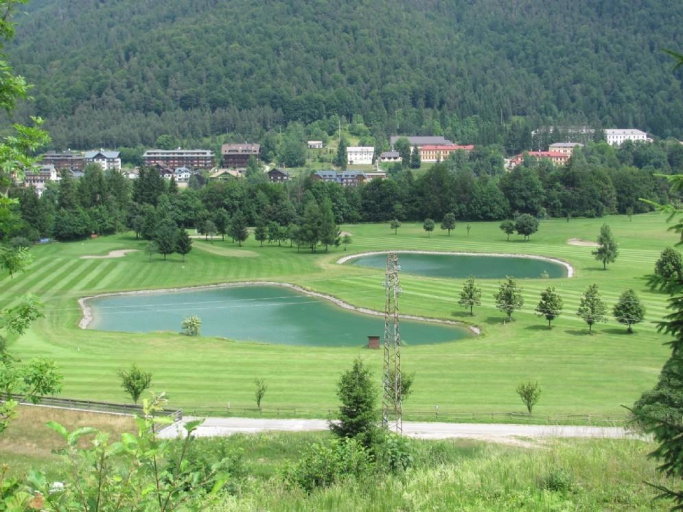Il campo da golf di Tarvisio