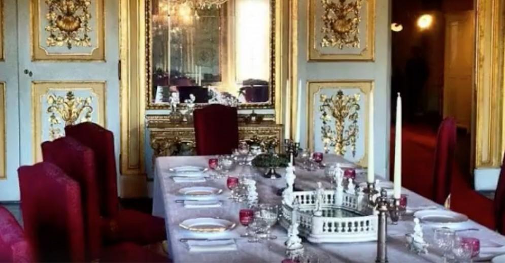 Una sala dell'appartamento della regina