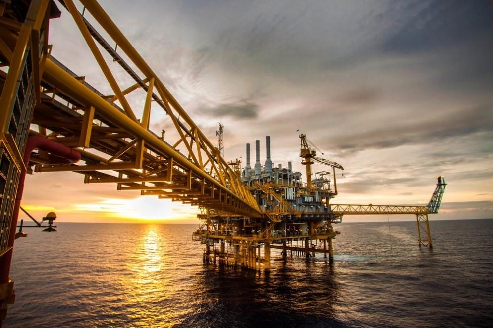 Piattaforma di estrazione petrolifera