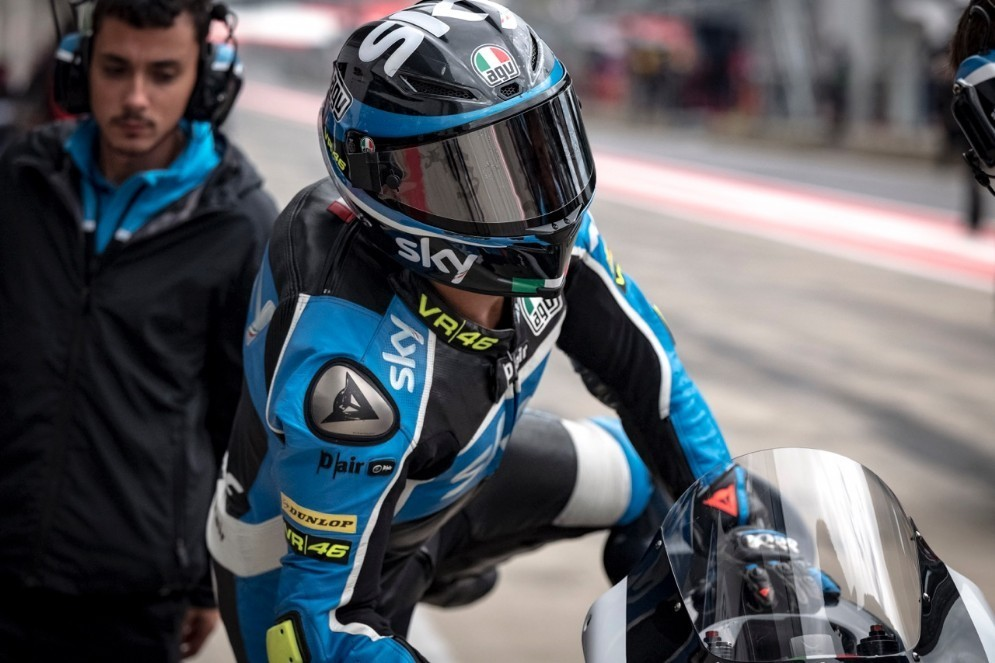 La moto dello Sky Racing Team Vr46