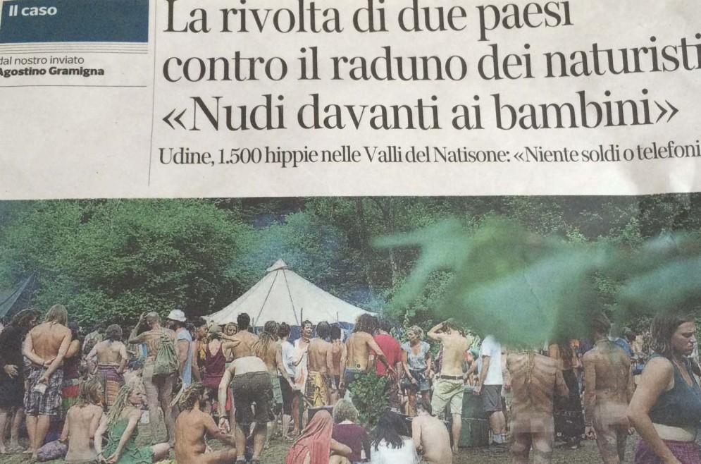 L'articolo apparso sul Corriere della Sera