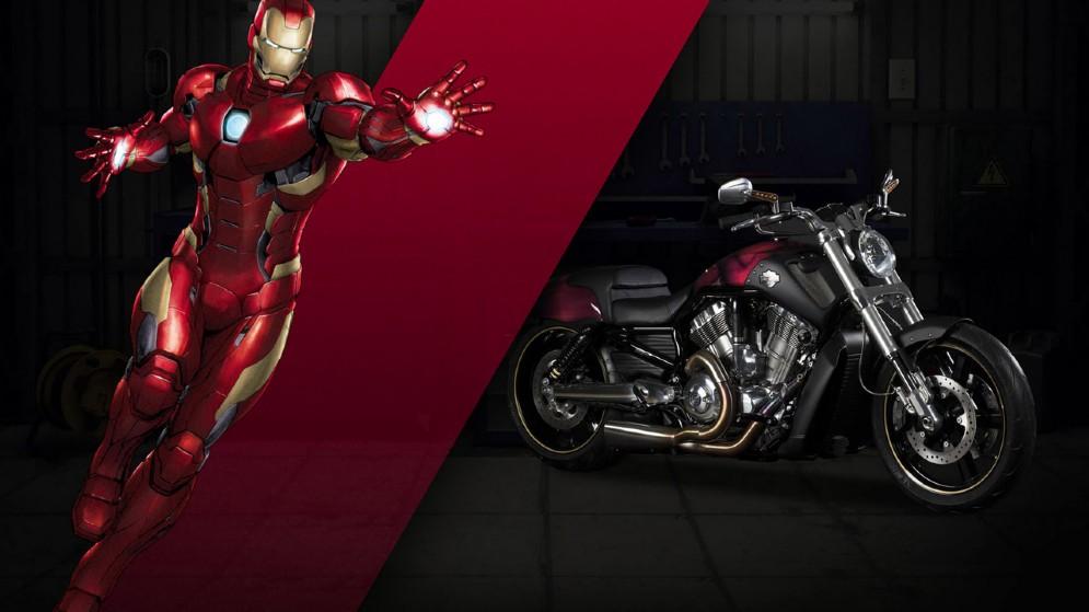 La V-Rod di Iron Man
