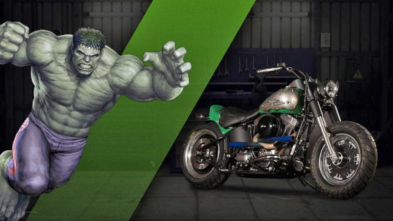 La Fat Boy di Hulk