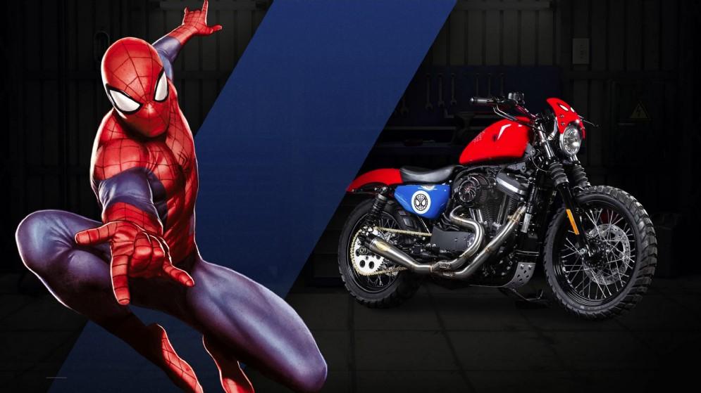 La 883 di Spiderman