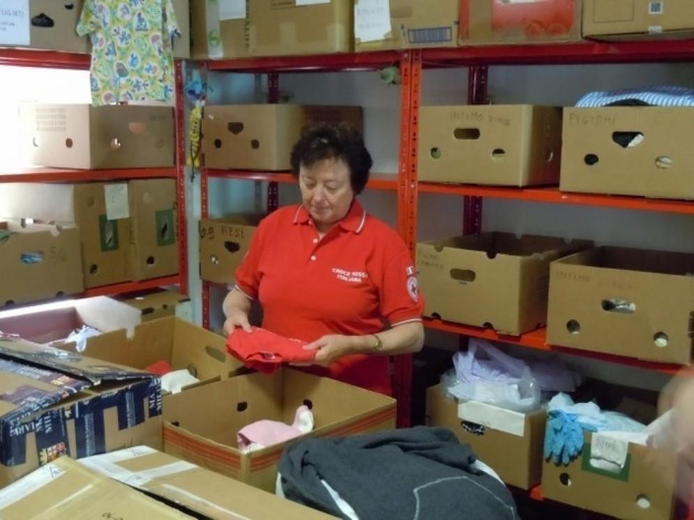 Avviata una raccolta abiti e materiali per i terremotati