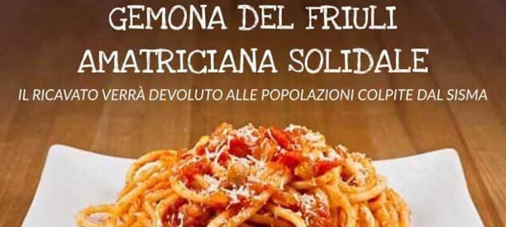 Nuova iniziativa solidale a Gemona in favore terremotati del centro Italia