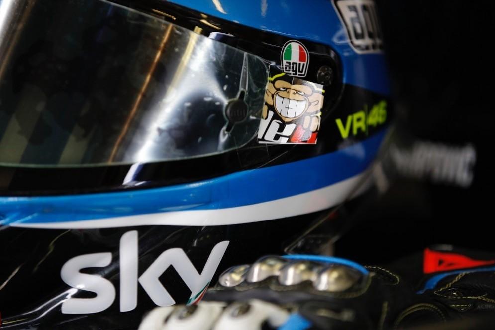 Il box dello Sky Racing Team Vr46