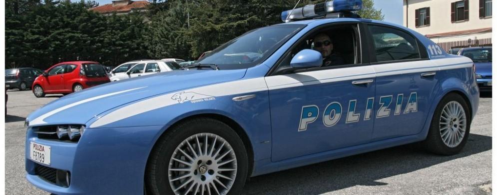 Polizia di Stato al lavoro a Trieste
