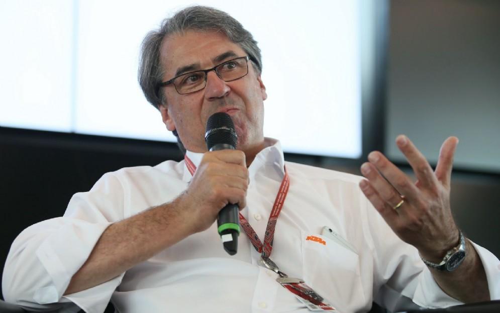 L'amministratore delegato della Ktm, Stefan Pierer