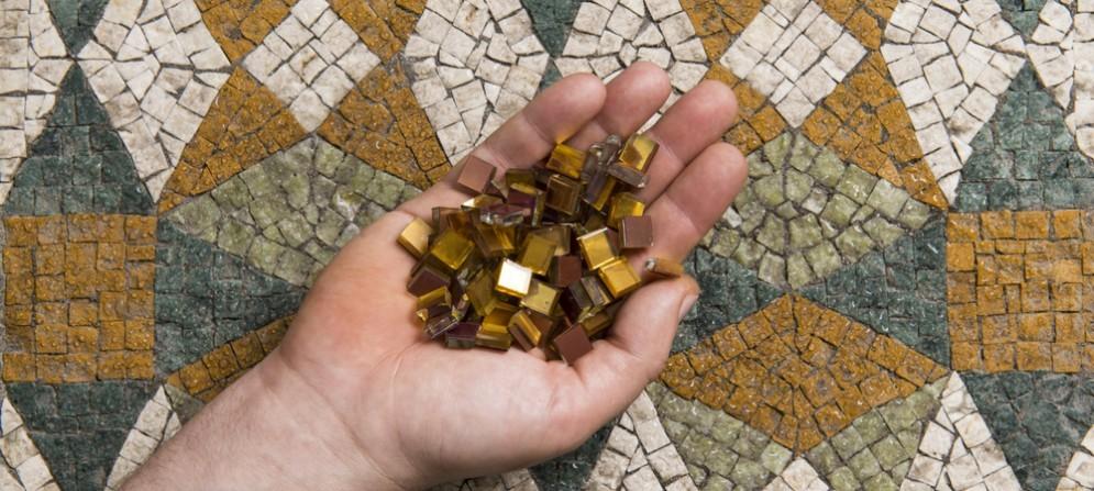 La scuola di mosaico di Spilimbergo
