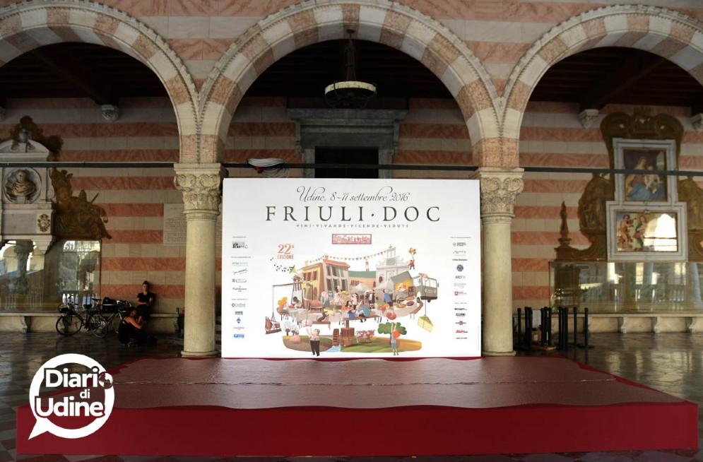 I preparativi per l'inizio di Friuli Doc