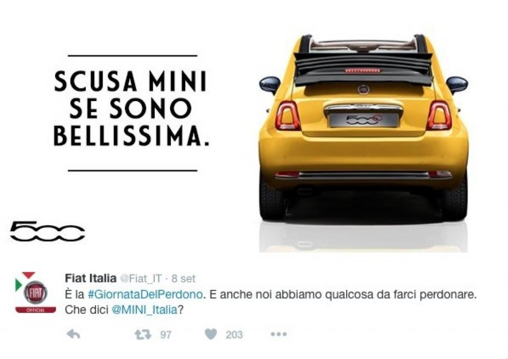 FIAT: Scusa Mini se sono bellissima