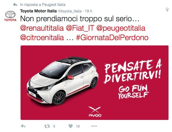 Toyota: Non prendiamoci troppo sul serio...