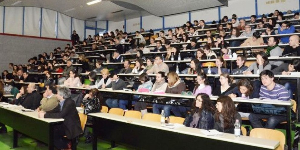 Studenti universitari a Udine