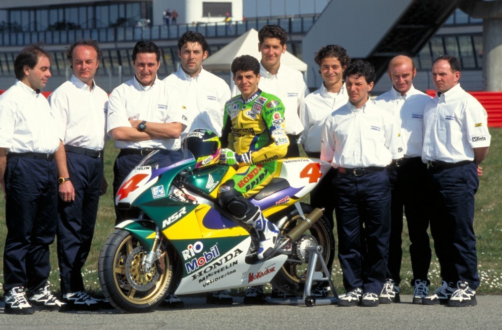 1997: l'esordio in classe 500 con Alex Barros