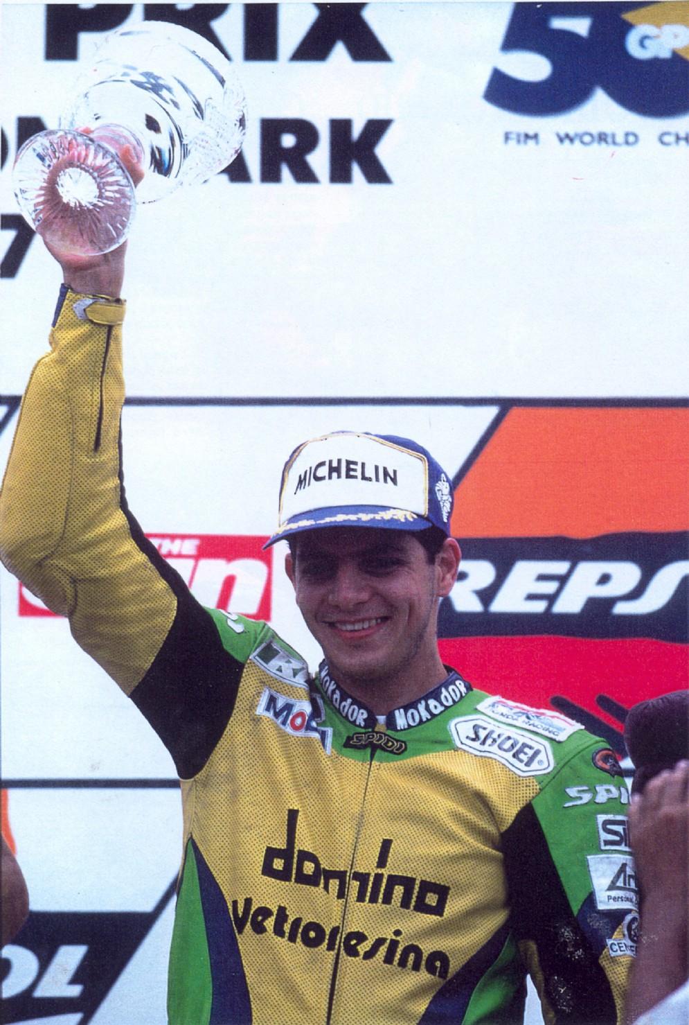 1997: la gioia del primo podio