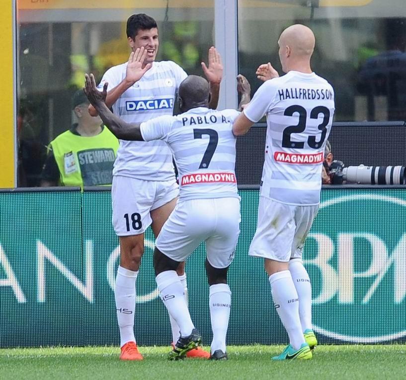 L'Udinese sbanca San Siro
