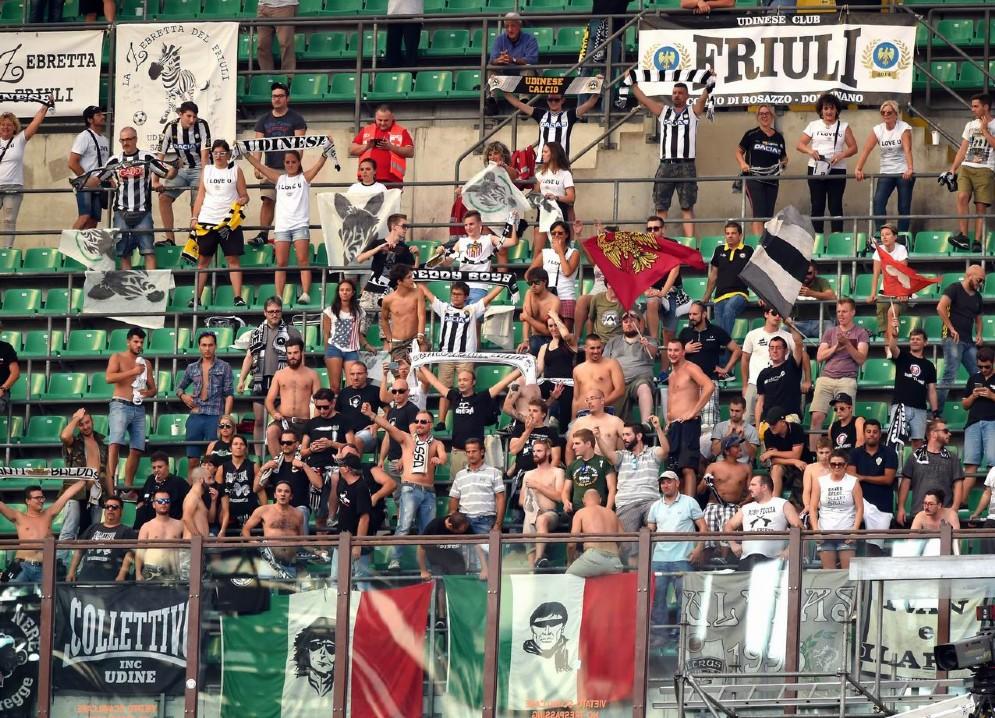I tifosi bianconeri in trasferta a Milano