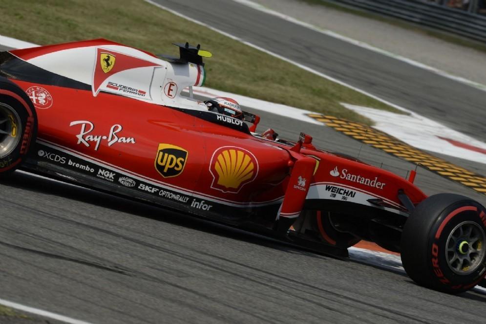 La SF16-H di Kimi Raikkonen