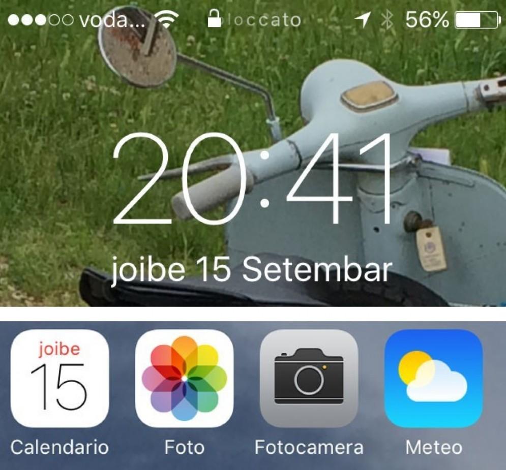 Aggiornamenti in friulano sugli iPhone