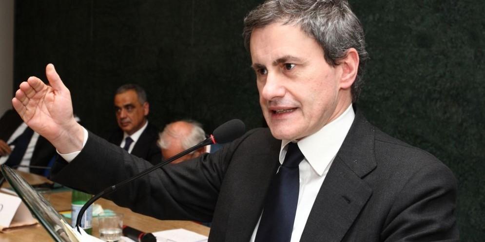 L'ex sindaco di Roma Gianni Alemanno.
