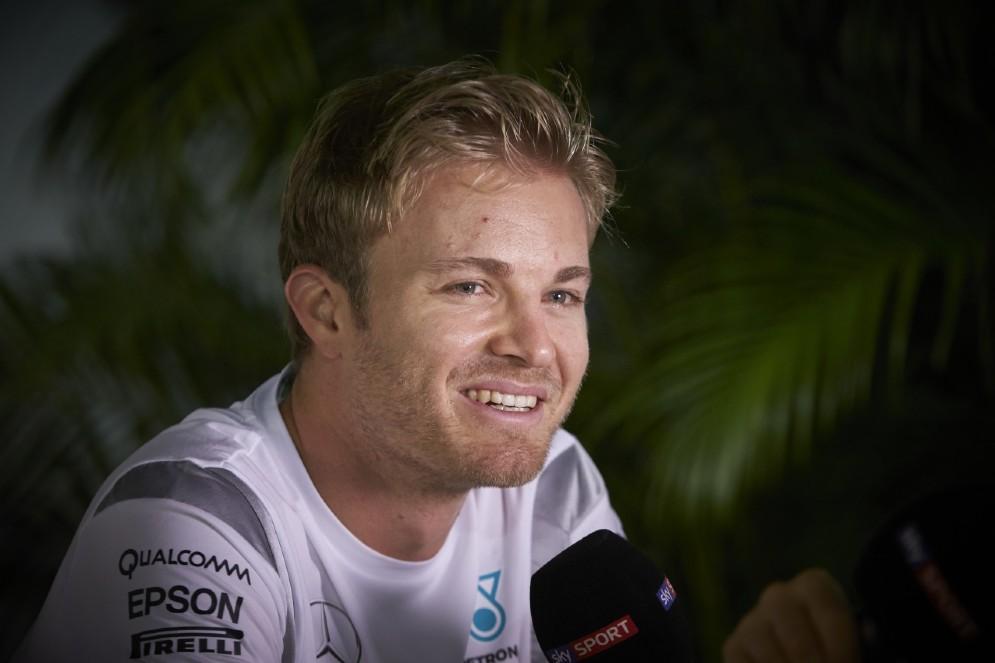 Nico Rosberg, oggi il più veloce