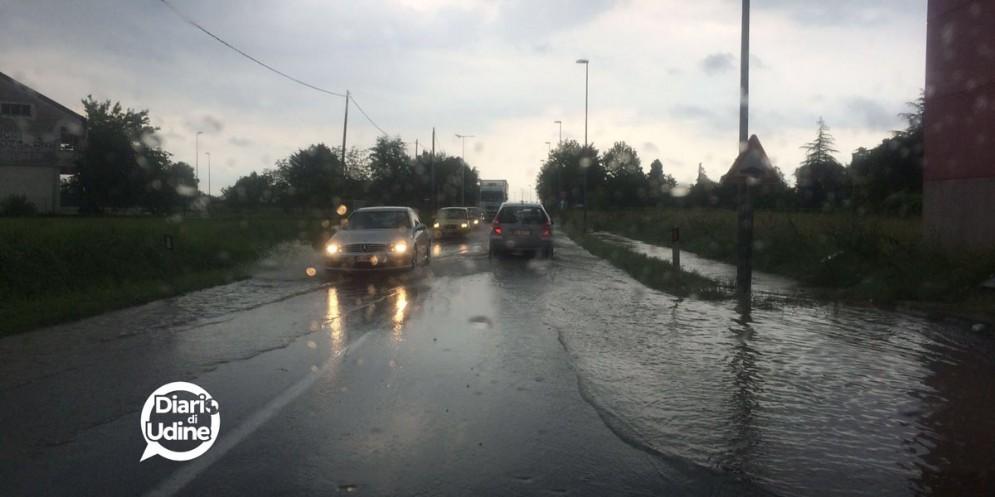 Il maltempo ha causato gravi danni a Lignano, Ronchis e Artegna