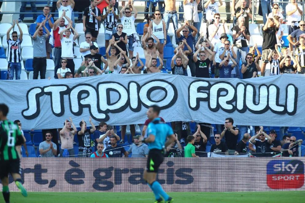 L'Udinese esce sconfitta da Reggio Emilia