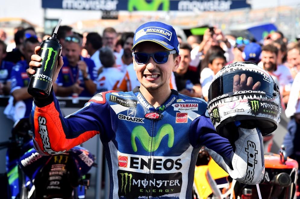 Jorge Lorenzo dopo il secondo posto ad Aragon