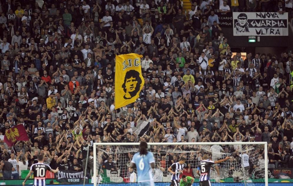 I tifosi della Curva Nord (© Diario di Udine)
