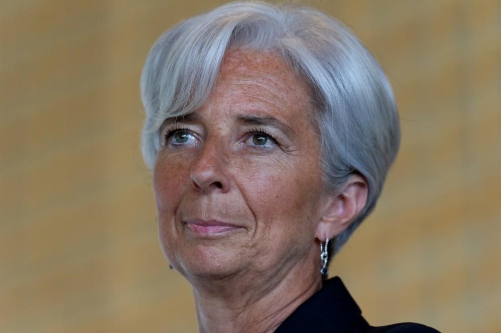 La direttrice del Fondo Monetario Internazionale Chistine Lagarde
