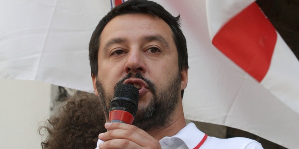 Matteo Salvini ha inaugurato la sua Scuola di Formazione politica.