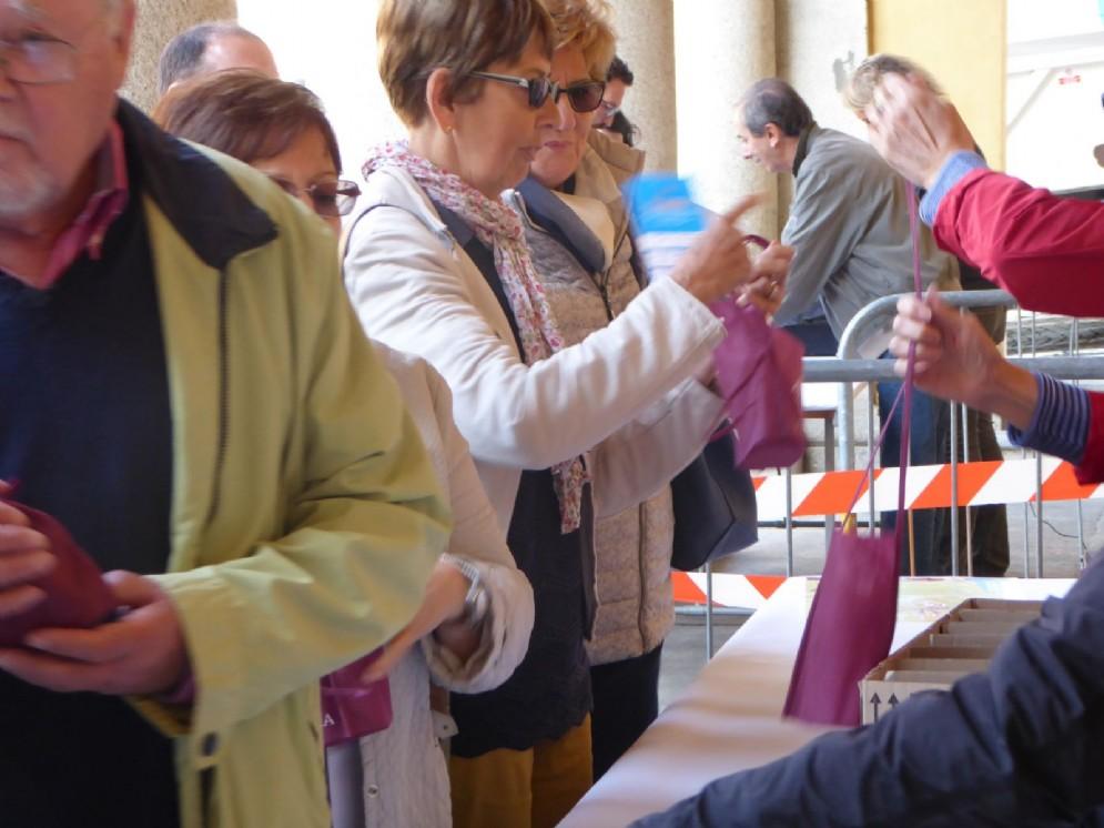 Tantissimi i partecipanti all'evento «Da Cortile a Cortile»