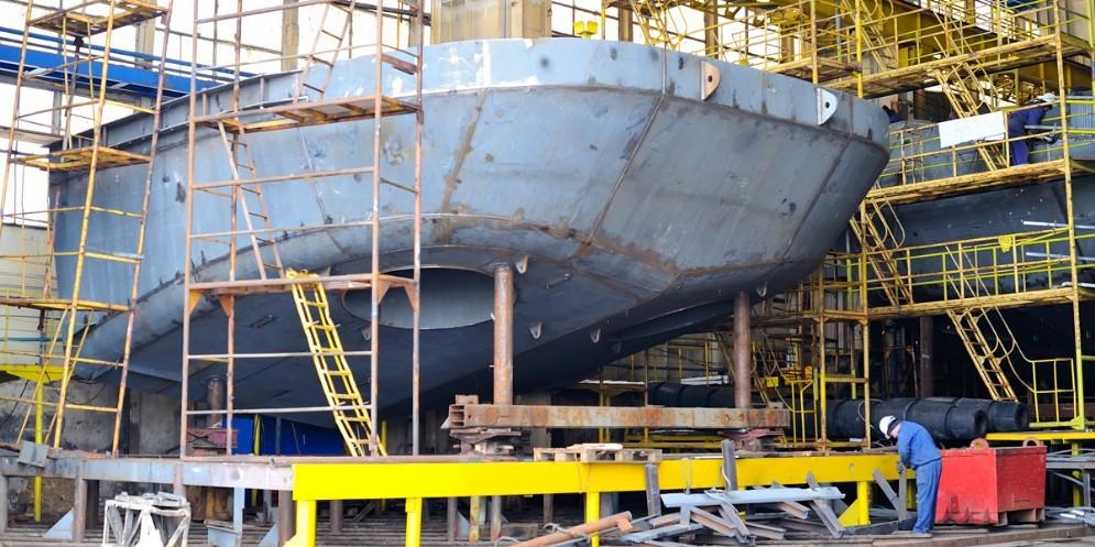 Numeri positivi dal settore della cantieristica navale