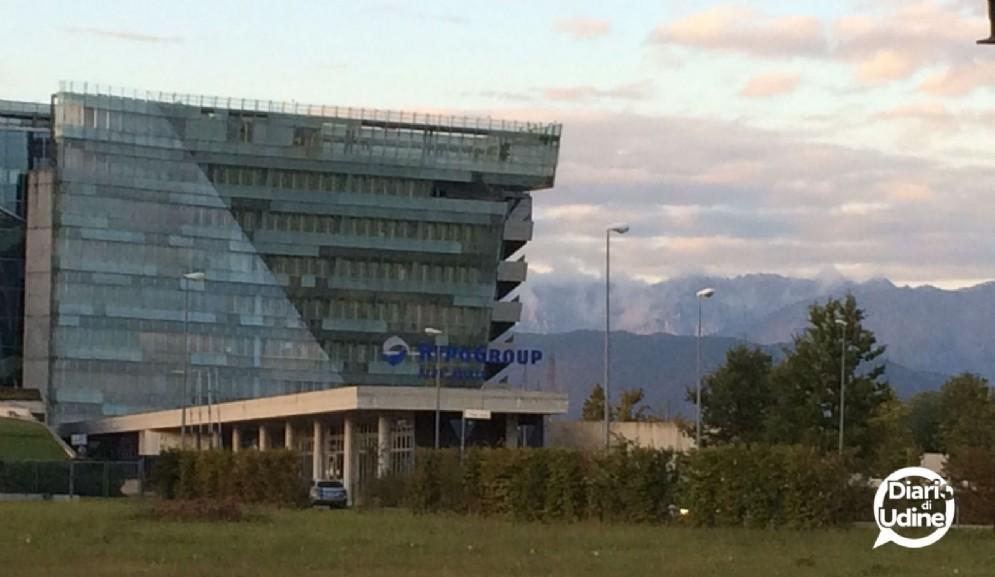 La sede della Hypo Bank a Tavagnacco
