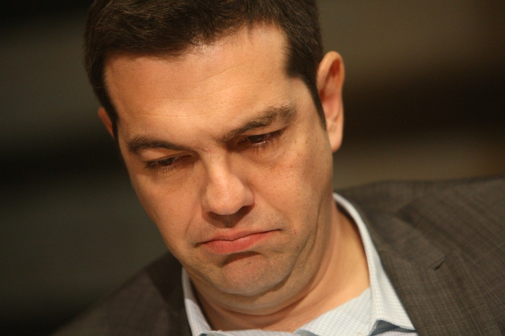 Il premier greco Alexis Tsipras