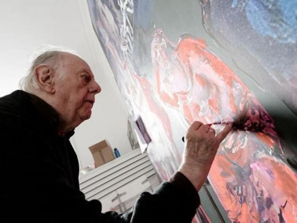 Dario Fo pittore protagonista a Casa Cavazzini