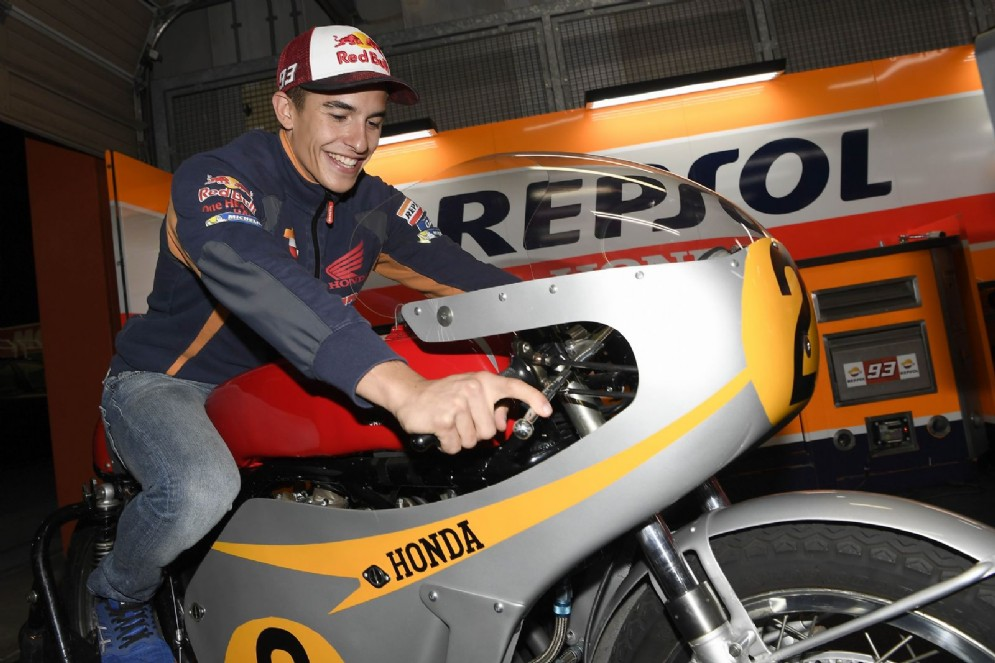 Marquez sulla Honda RC181