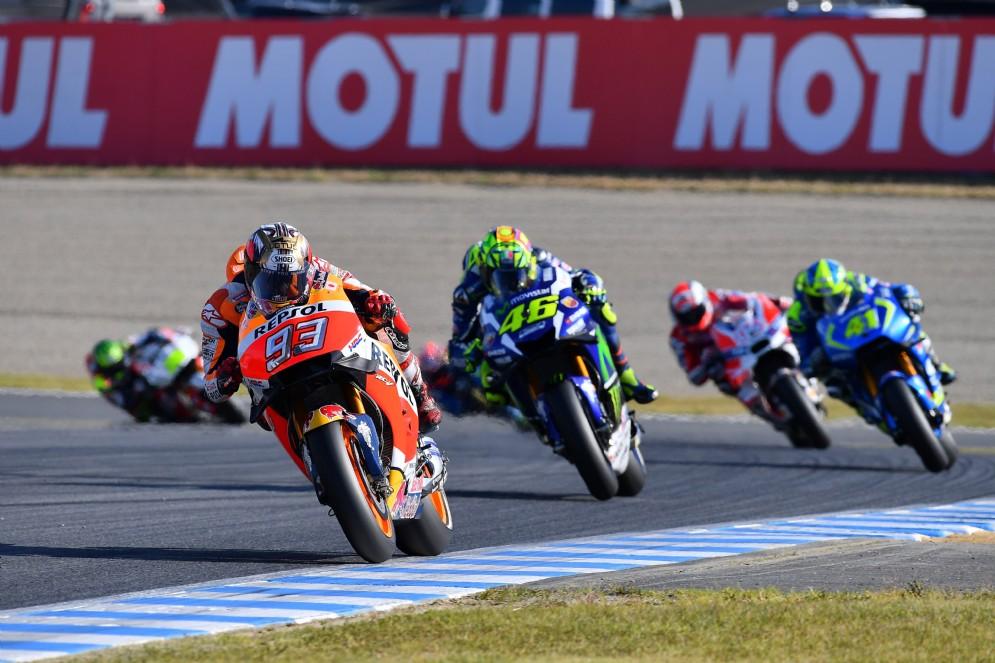 Valentino Rossi recupera e si mette in battaglia con Marquez