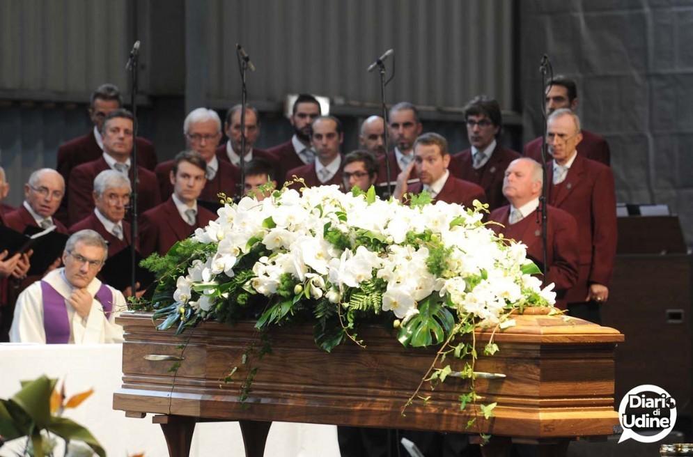 I funerali di Andrea Pittini (© Diario di Udine)
